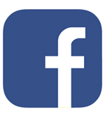 Image of the Facebook icon.