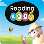 Reading eggs helps students build reading skills.