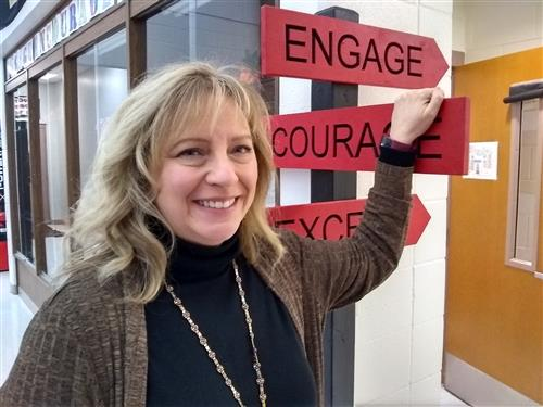 Engage Encourage Excel Mrs. Kaiser and our mission statement