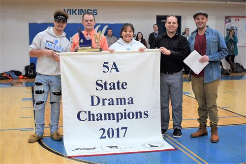 Our drama team won first place at state!
