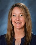 Staff photo of Mrs. Hinman, librarian at Atlas