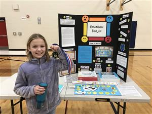 Skyway students won several awards at the district Invent Idaho