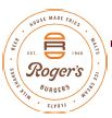 Roger's Burgers Fundraiser - 3rd Tuesday of EVERY month!