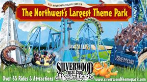 Read for 600 minutes to earn a day pass to Silverwood Theme Park.