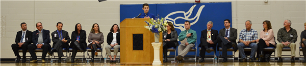Assemblies were held at both schools to celebrate the good news.