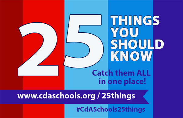 There are 25 things we want you to know before school starts - find them here Aug 10  through Sept 3.