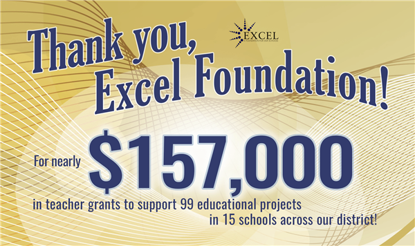 Thank you, Excel Foundation!