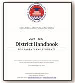 Icon on the district handbook cover (image).