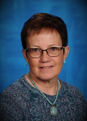 Staff photo of Mrs. Baker, math teacher at Venture