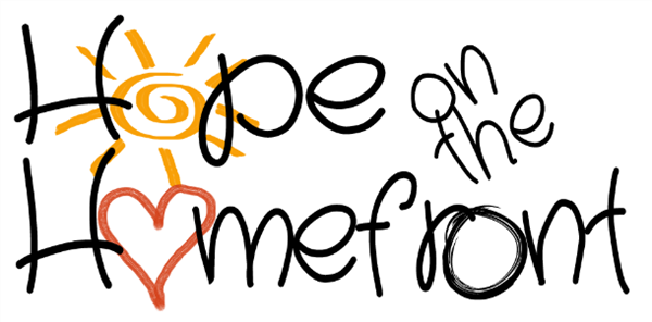 Hope on the Homefront Logo