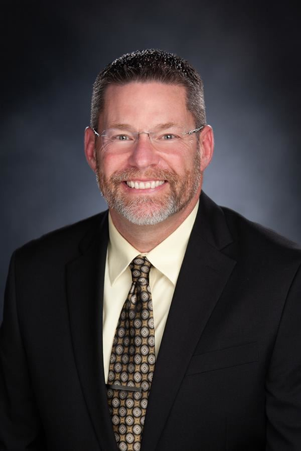 Staff photo of Superintendent Steven Cook