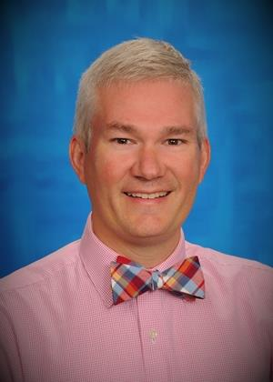 Staff photo of Dr. Mike Nelson, Director of Curriculum and Assessements