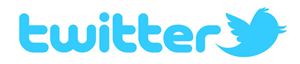 Twitter logo and icon.