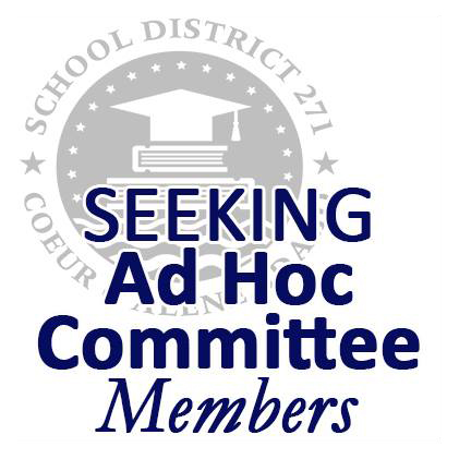 Now accepting applications for our Ad Hoc Committee!
