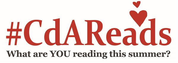 Our CdAReads program logo to promote K-3 literacy. What are YOUR reading this summer?