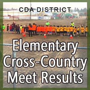Annoucing our 2017 Elementary Cross Country Track Meet results!