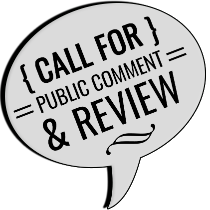 Policy & Procedure Up for Public Review