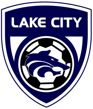 The LCHS Soccer Crest logo